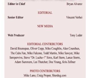 "F4W Newsletter contributors. Also ""New Media"""