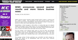 """While a thorough written report appears on their site, key """"busines"""" details were flubbed in F4W audio coverage of WWE earnings"""